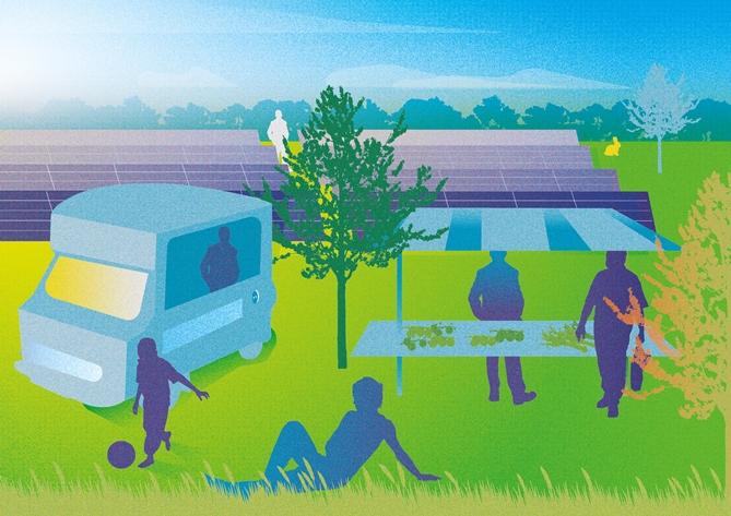Eerste Utrechtse Energietuin gepland in gemeente Montfoort