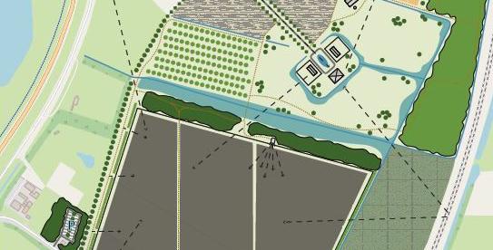 Bouw zonnepark in Energietuin de Noordmanshoek van start