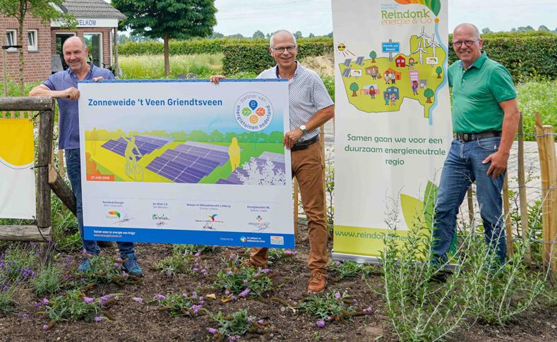Zonneweide 't Veen is eerste partner Energietuinen Nederland
