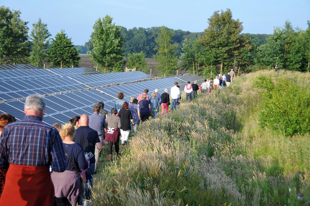 Burgerbeweging wil meedenken over zonnevelden mét recreatie, educatie en biodiversiteit