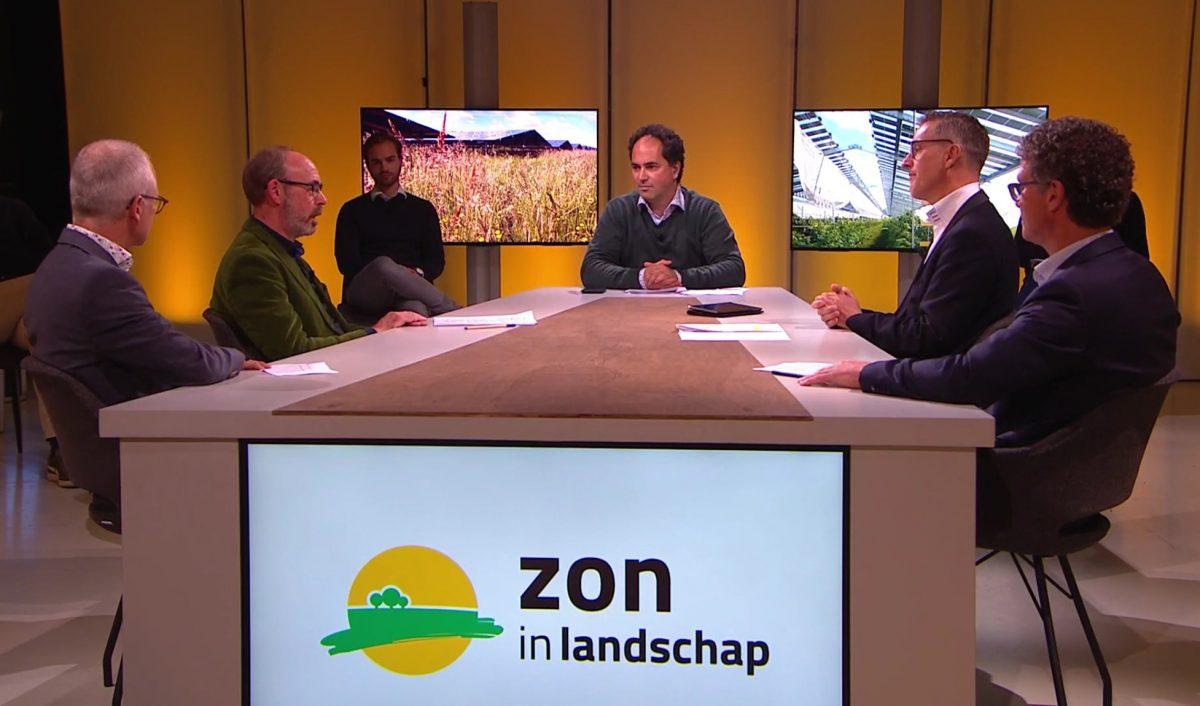 Talkshow Zon in Landschap zet Energietuinen in de schijnwerpers