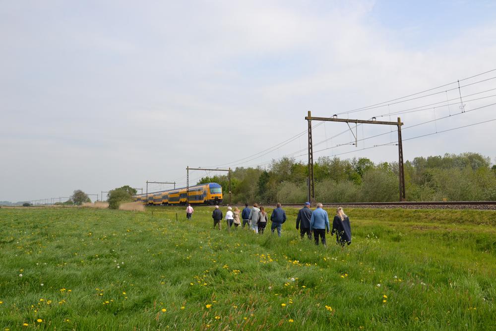 Veldbezoek Energietuin De Noordmanshoek foto Sven Stremke